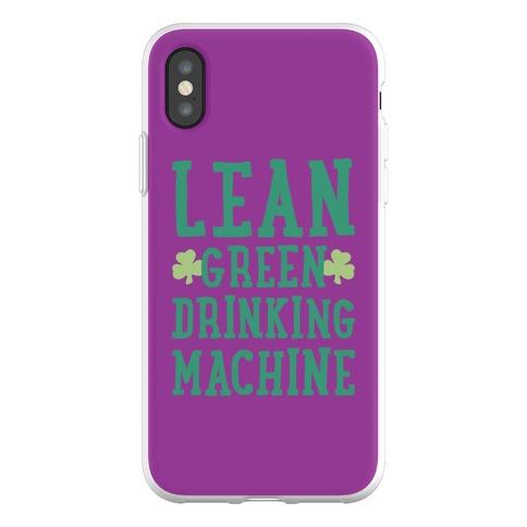 Lean Green Drinking Machine Phone Flexi-Case