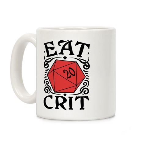 Eat Crit Coffee Mug