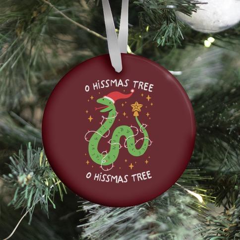 O Hissmas Tree Ornament