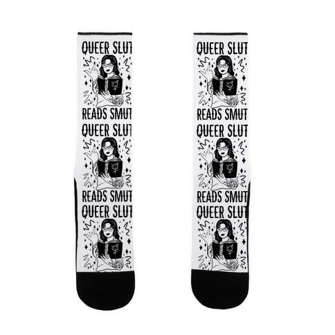 Queer Slut Reads Smut Sock