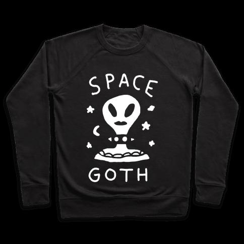 Space Goth Alien Pullover
