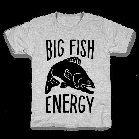 Big Fish Energy Kids T-Shirt