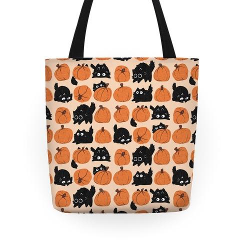 Pumpkin Cats Tote