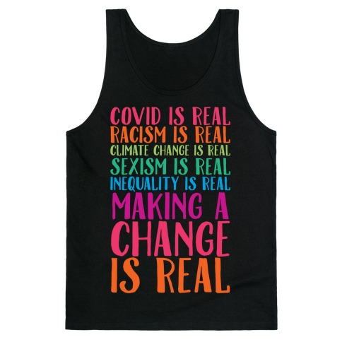 Making A Change Is Real Tank Top