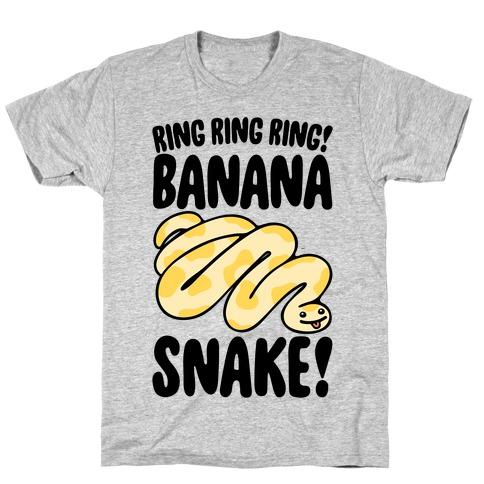 Ring Ring Ring Banana Snake T-Shirt