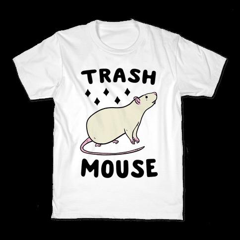 Trash Mouse Kids T-Shirt