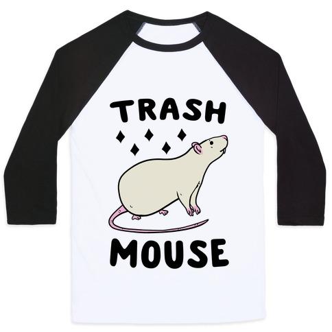 Trash Mouse Baseball Tee