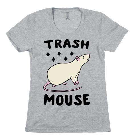 Trash Mouse Womens T-Shirt