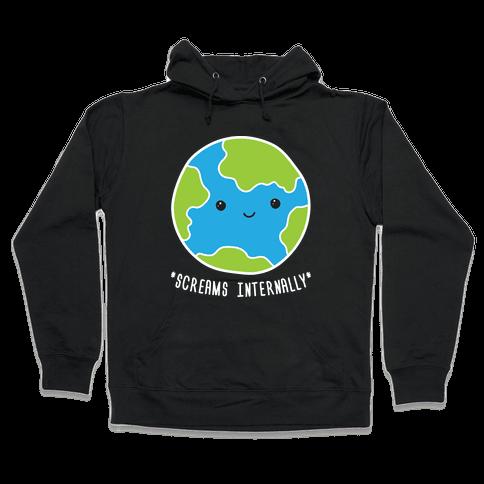 Earth Screams Internally Hooded Sweatshirt