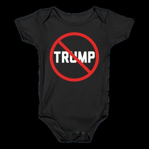 No Trump Baby Onesy