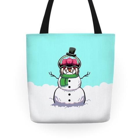 Metroid Snowman Tote