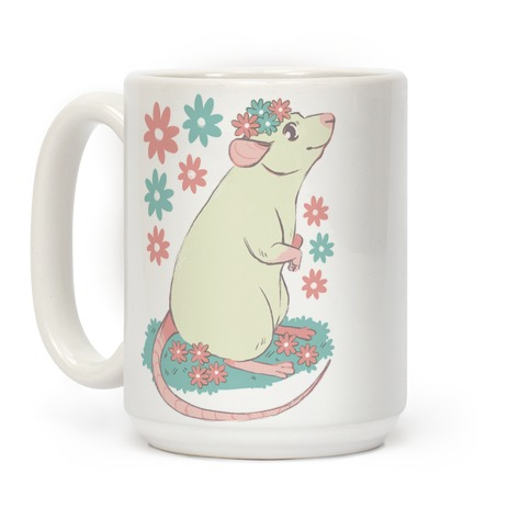 Soft Pastel Rat Coffee Mug