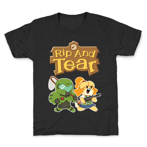 Rip And Tear Kids T-Shirt