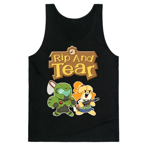 Rip And Tear Tank Top