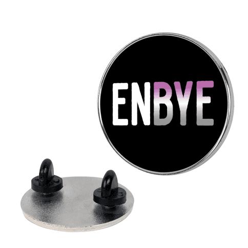 Enbye Asexual Non-binary Pin