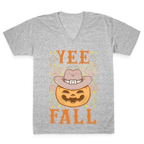 Yee Fall V-Neck Tee Shirt