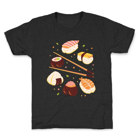 Subtle Sushi Booty Kids T-Shirt