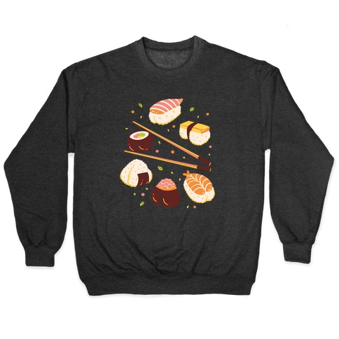 Subtle Sushi Booty Pullover