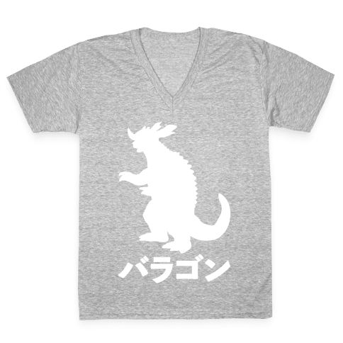 Baragon  V-Neck Tee Shirt