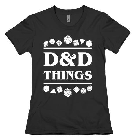 D&D Things Womens T-Shirt