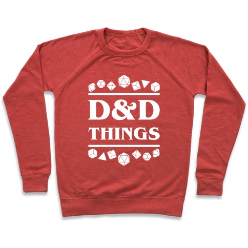 D&D Things Pullover