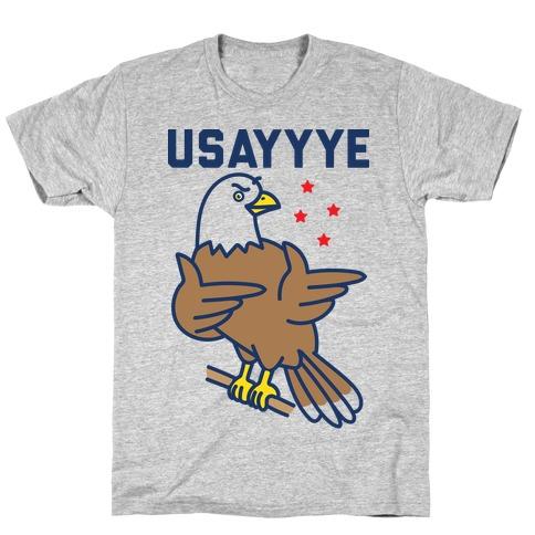 USAYYYE Bald Eagle T-Shirt