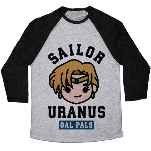 Sailor Uranus Gal Pal Baseball Tee