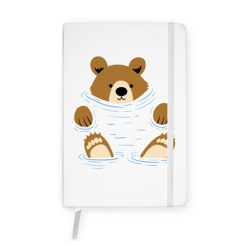 River Bear Notebook