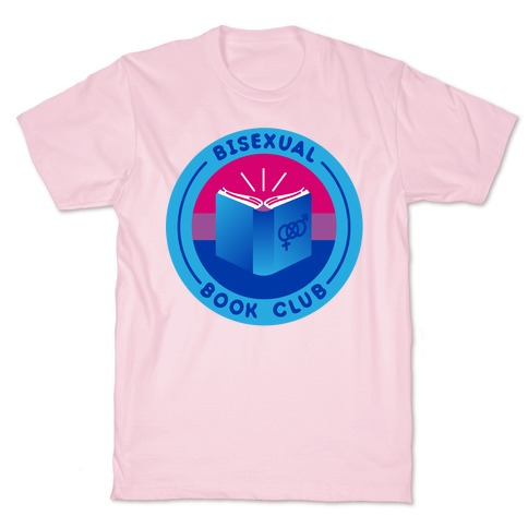 Bisexual Book Club Patch T-Shirt
