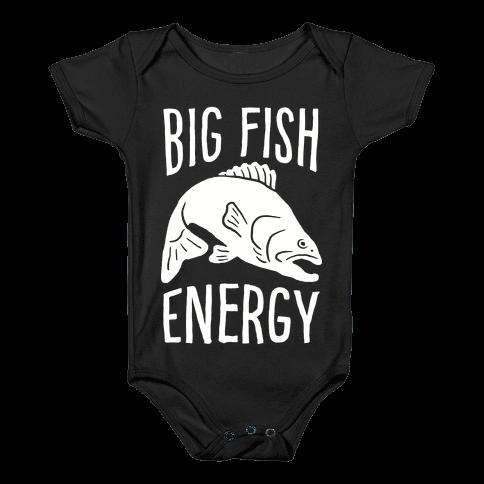 Big Fish Energy Baby Onesy