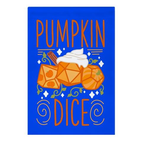 Pumpkin Dice Garden Flag