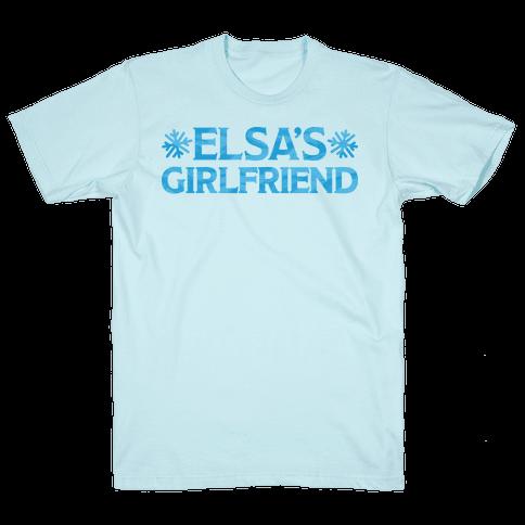 Elsa's Girlfriend Mens/Unisex T-Shirt
