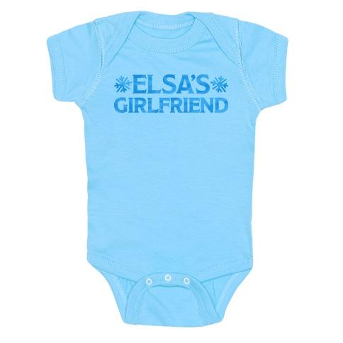 Elsa's Girlfriend Baby Onesy