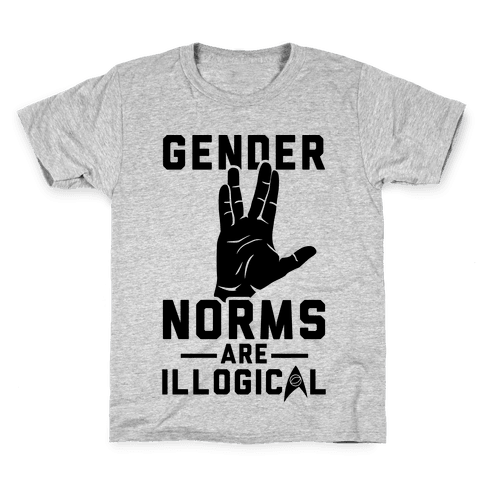 Gender Norms Are Illogical Kids T-Shirt