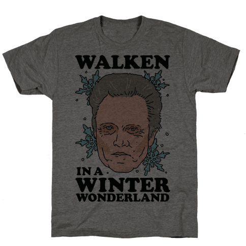 Walken in a Winter Wonderland Mens T-Shirt
