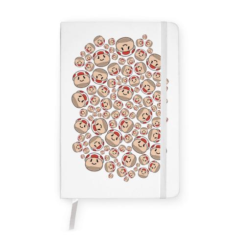 Stuffed Shrooms Pattern Notebook