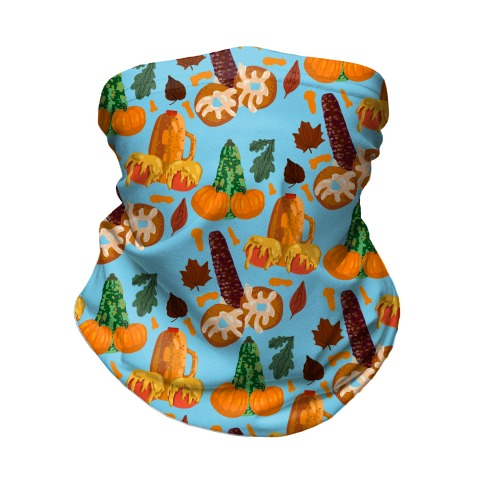 NSFW Penis Fall Pattern Neck Gaiter