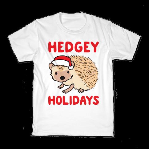 Hedgey Holidays Kids T-Shirt