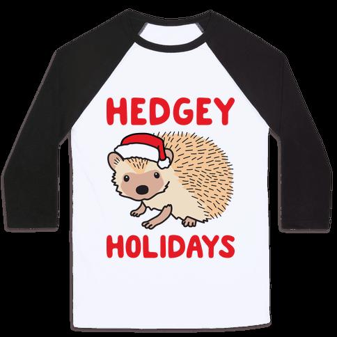 Hedgey Holidays Baseball Tee