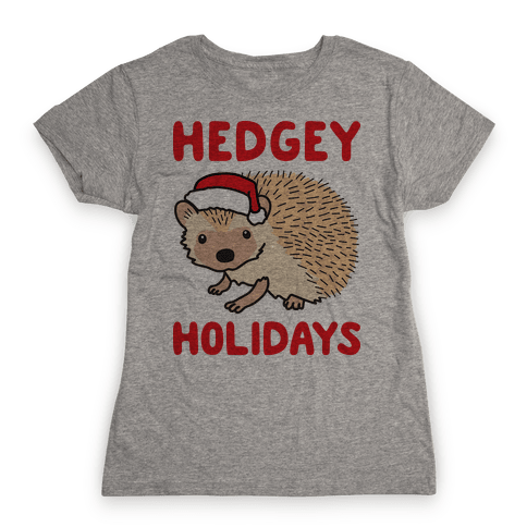 Hedgey Holidays Womens T-Shirt