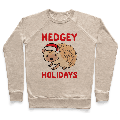 Hedgey Holidays Pullover