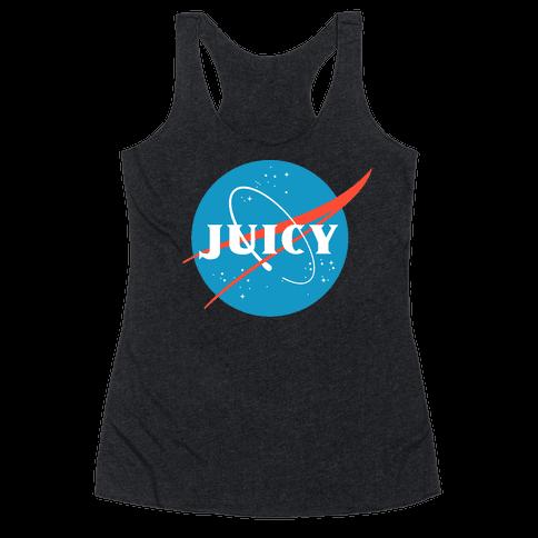 JUICY NASA Parody Racerback Tank Top