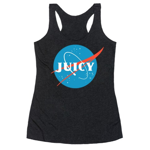 JUICY NASA Parody Racerback Tank Top