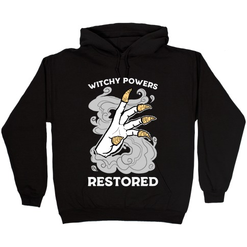 Witchy Powers Restored Hooded Sweatshirt
