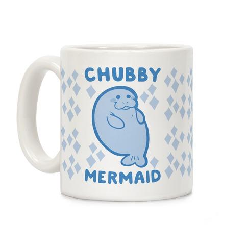 Chubby Mermaid Coffee Mug