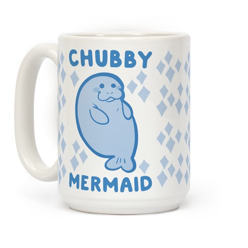 Chubby Mermaid Coffee Mug