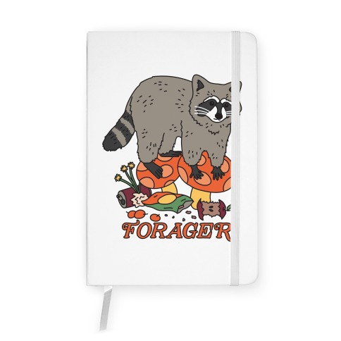 Forager Raccoon Notebook