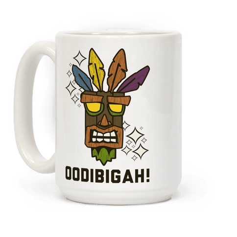Crash Aku-Aku Mask Coffee Mug