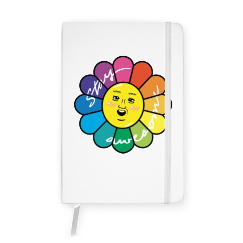 Stay Awesome Notebook