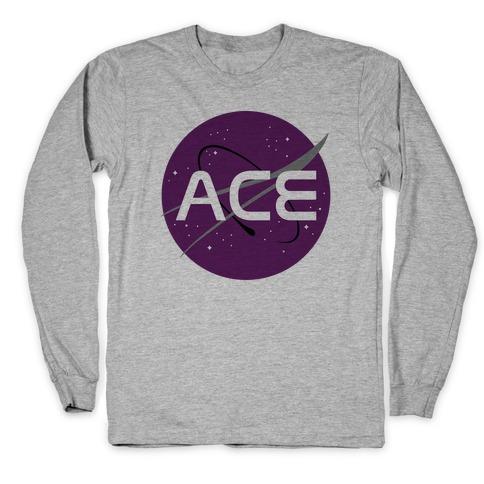 Ace Nasa Long Sleeve T-Shirt